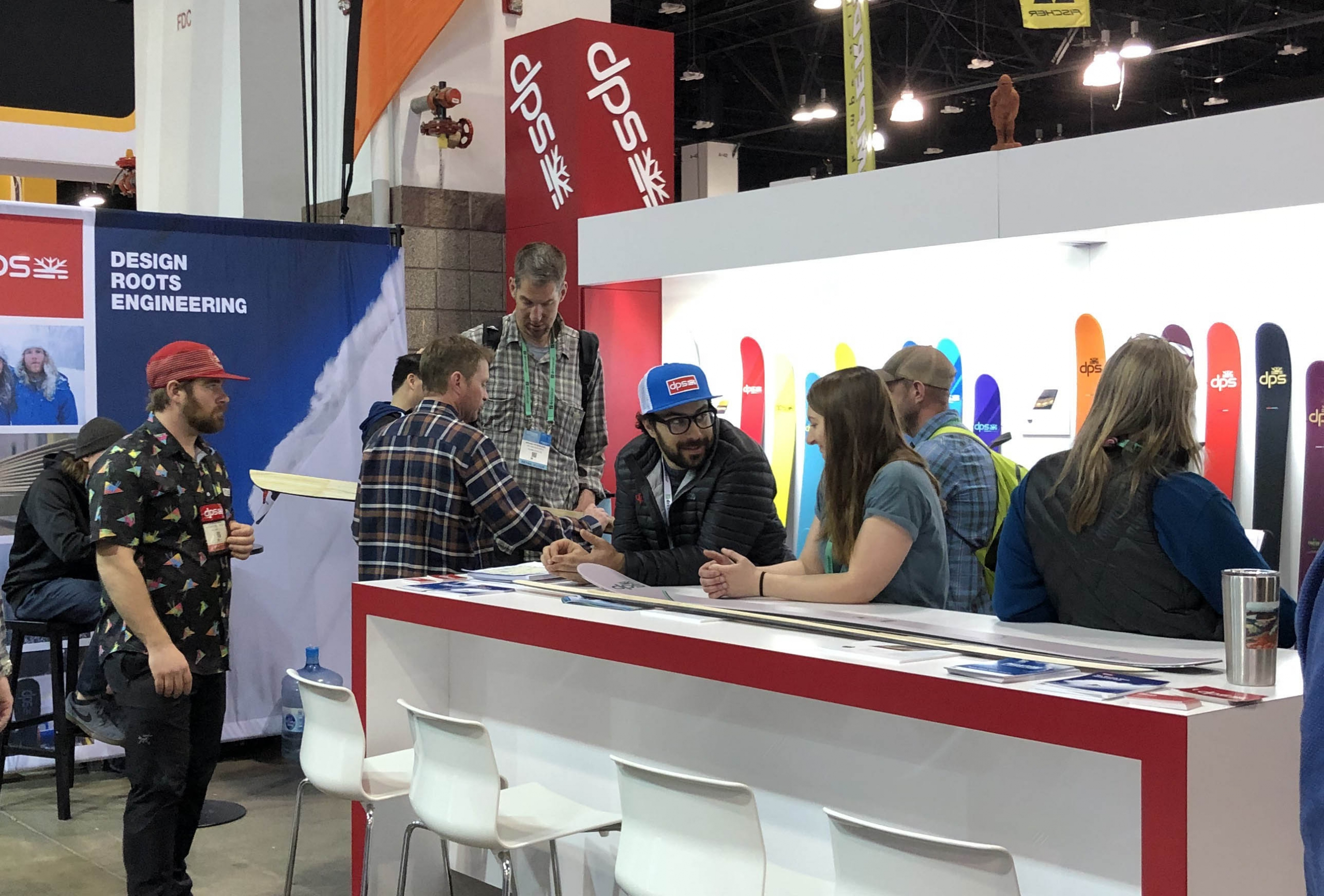 DPS booth at Outdoor Retailer Snow Show 2020