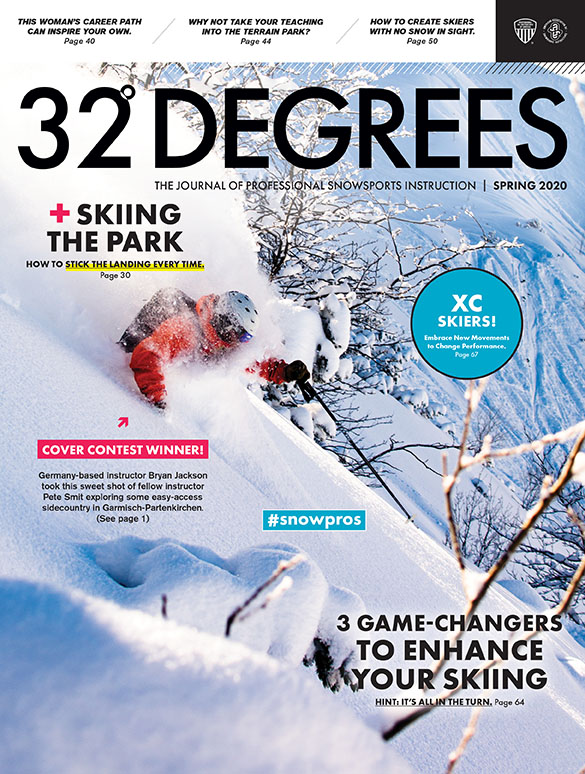Ski Cover of 32 Degrees - Spring 2020