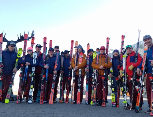 First Chair: Why the Alpine Team Trained on Super G Skis at Snowbasin