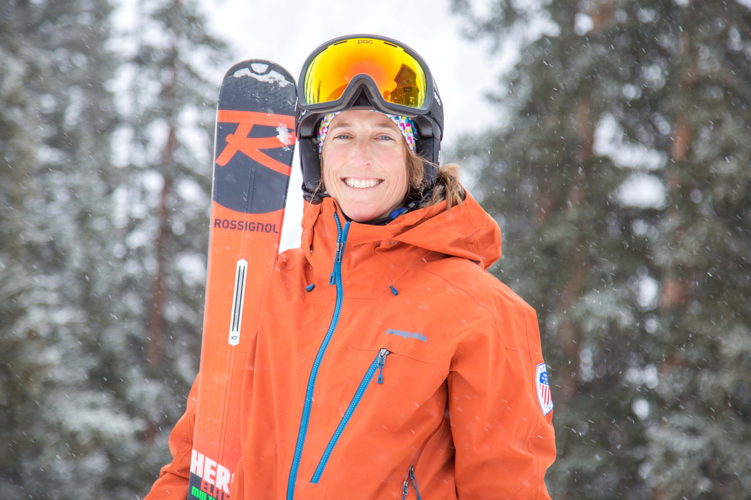 PSIA Alpine Team Member Ann Schorling