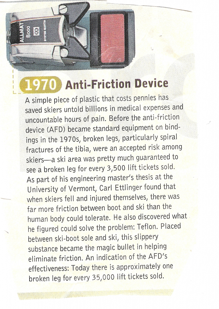 SKI Magazine Clip on Anti-Friction Device
