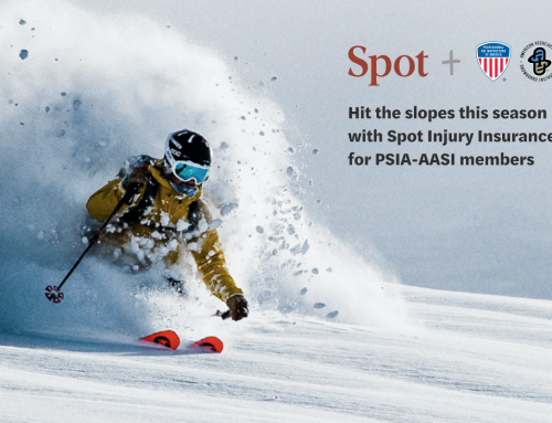 Spot's Got Instructors Covered with Injury Insurance